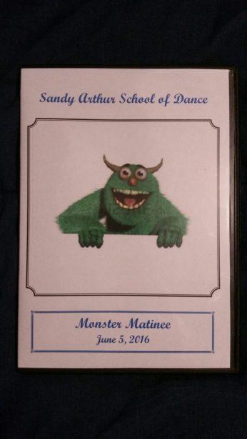 dvd sandy arthur dance recital
