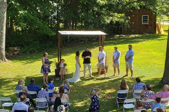 Beautiful Wedding Ceremony Processional: Over the Rainbow by Israel Kamakawiwo'Ole. Recessional: Signed, Sealed, Delivered by Stevie Wonder.