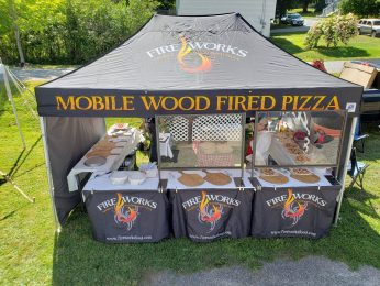 Great Pizza by: Fire Works.