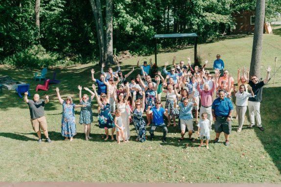 Lachance Wedding Group Photo