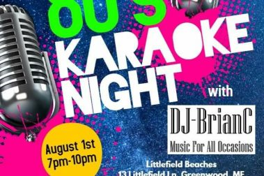 Littlefield Beaches Campground 80s Karaoke Dance Party